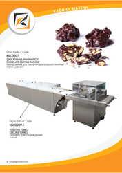 Оборудование для покрытия шоколадной глазурью